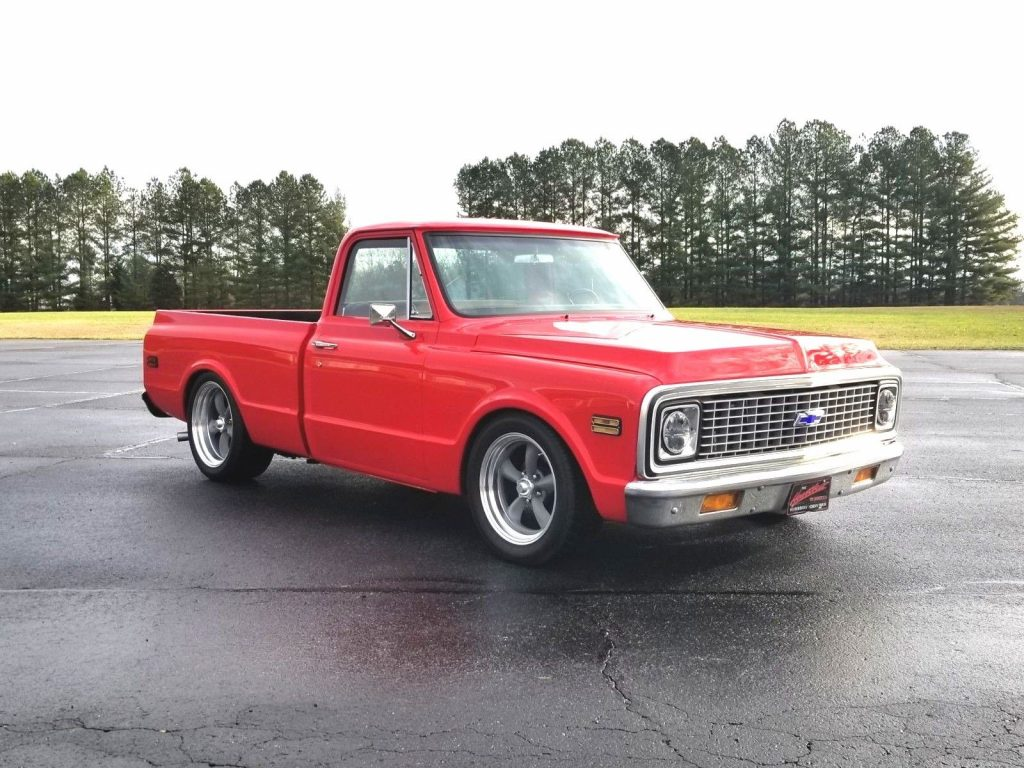 restomod 1971 Chevrolet C 10 pickup custom