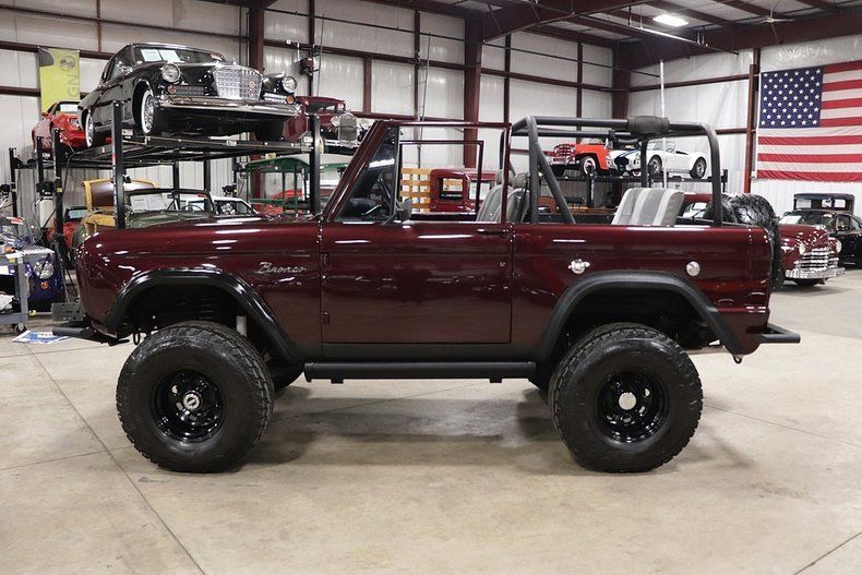 well modified 1971 Ford Bronco custom