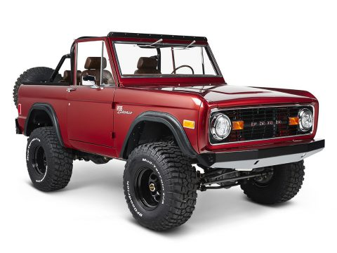 well restored and modified 1977 Ford Bronco Coyote custom for sale