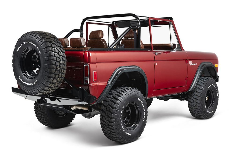 well restored and modified 1977 Ford Bronco Coyote custom