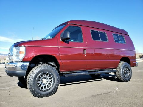 low miles 2010 Ford E Series Van Timberline 4×4 Conversion Custom van for sale