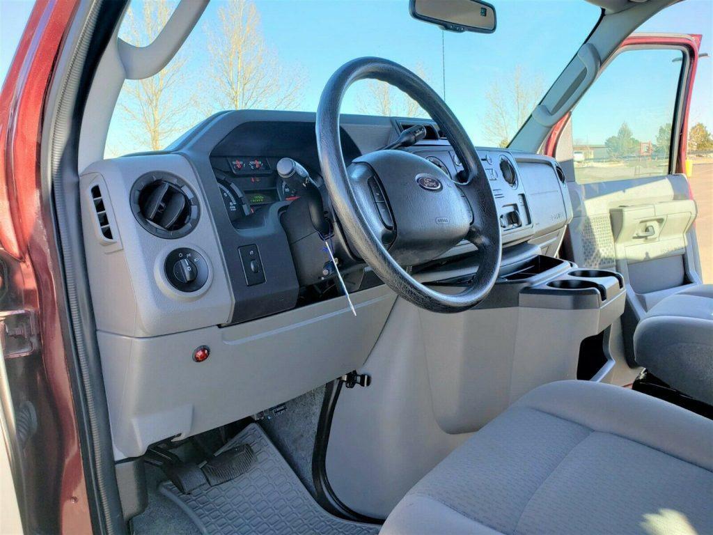 low miles 2010 Ford E Series Van Timberline 4×4 Conversion Custom van