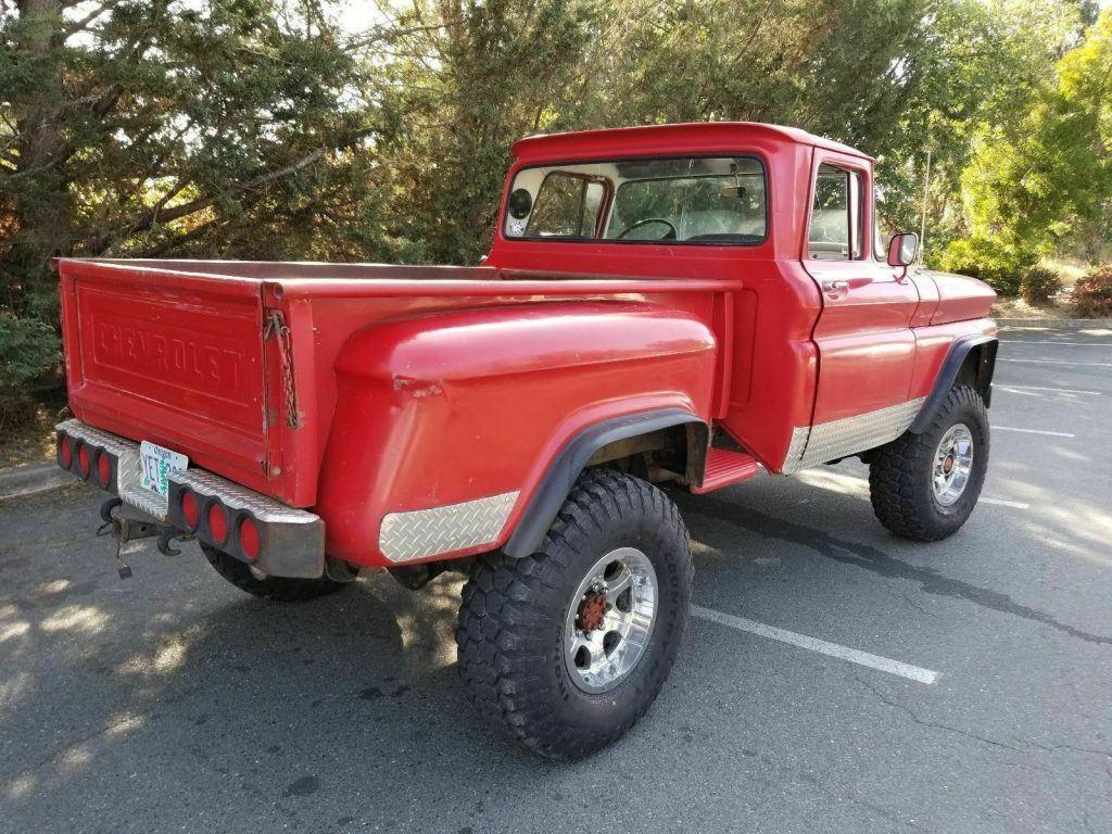 modified 1963 Chevrolet C/K Pickup 2500 custom