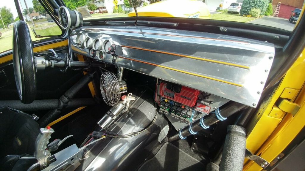 badass 1959 Willys Station Wagon panel custom