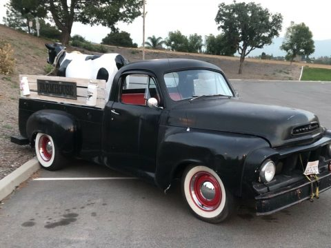 Chevy engine 1957 Studebaker Pickup Truck custom for sale