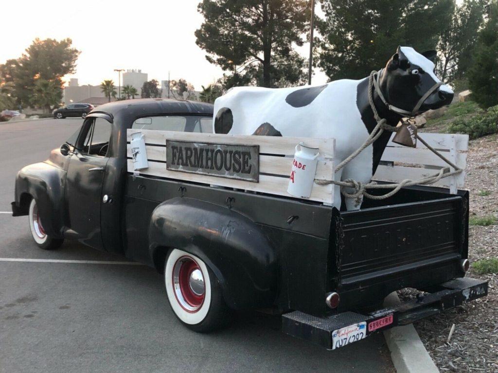 Chevy engine 1957 Studebaker Pickup Truck custom