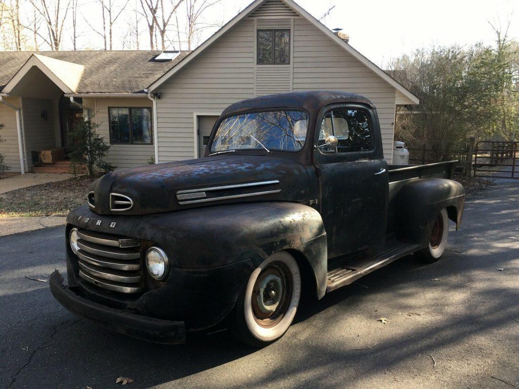 farmer`s rod 1948 Ford Pickup custom