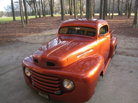 fullly customized 1948 Ford F 100 custom pickup for sale
