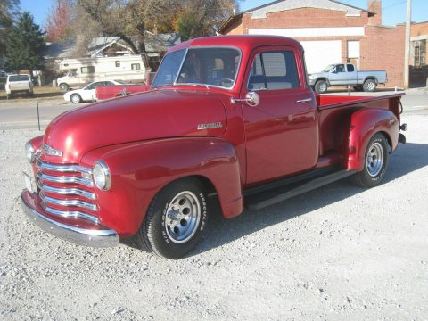 modern touches 1952 Chevrolet Pickup custom for sale