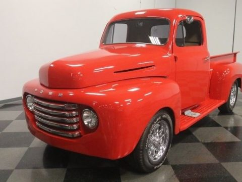 Slick Built 1949 Ford Pickup custom for sale