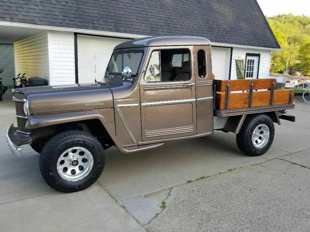one of a kind 1962 Willys pickup Custom