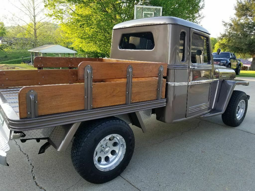 one of a kind 1962 Willys pickup Custom