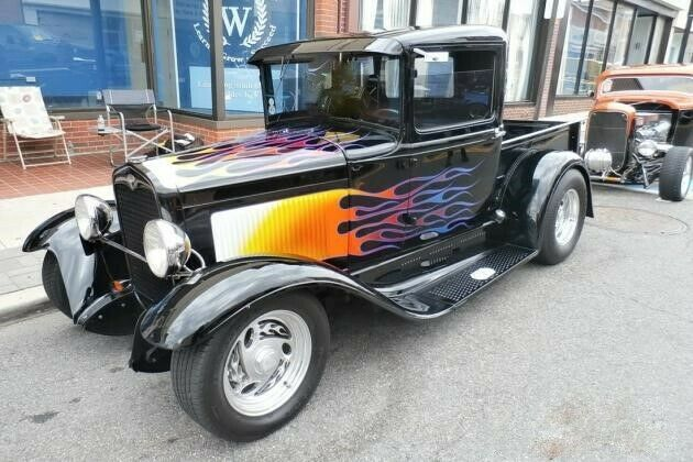 badass truck 1931 Ford Pickup custom
