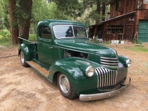 crate engine 1941 Chevrolet Pickup custom