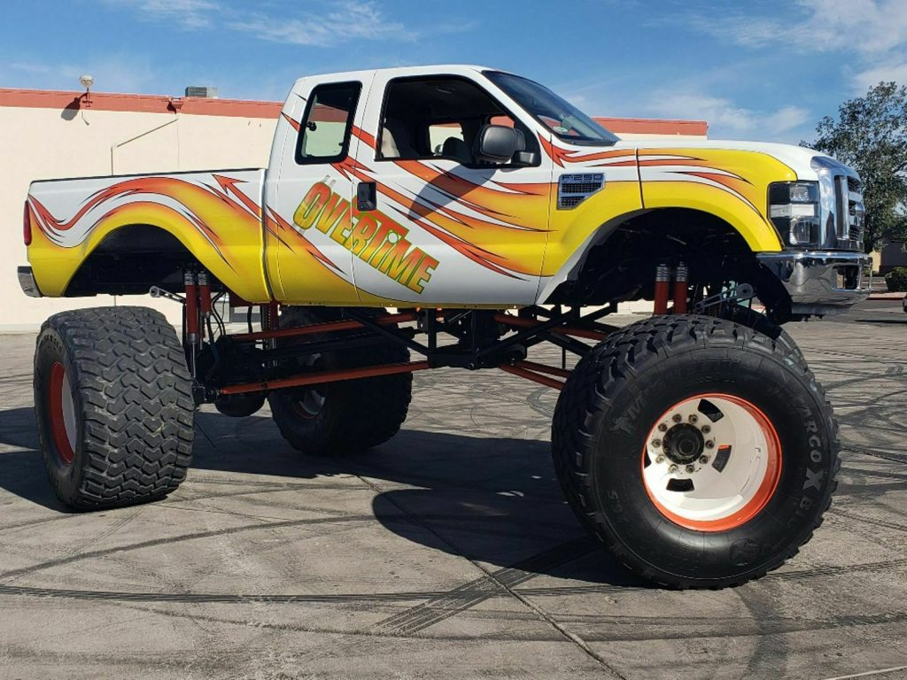 real classic 2008 Ford F 250 Overtime custom truck