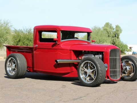 red beast 1934 Ford Pickup custom for sale
