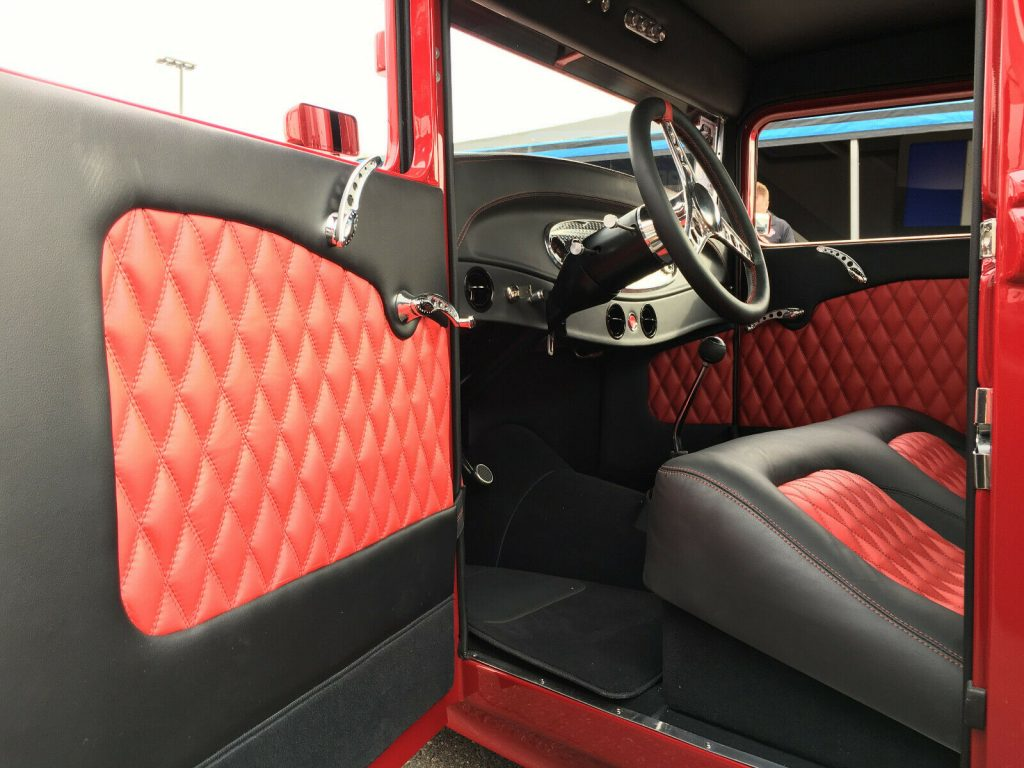 red beast 1934 Ford Pickup custom