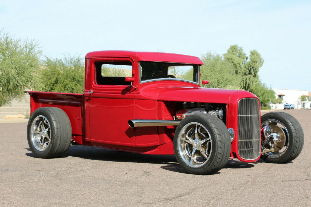 awesome build 1934 Ford Pickup custom