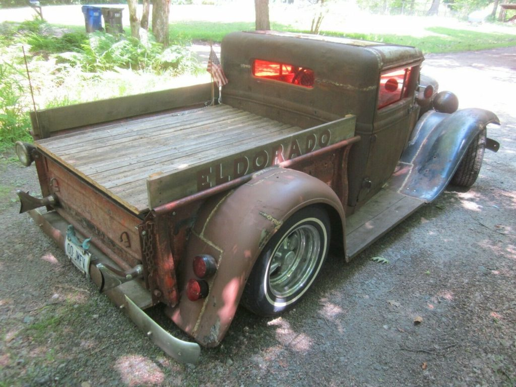 chopped 1930 Ford Pickups Brass pickup custom