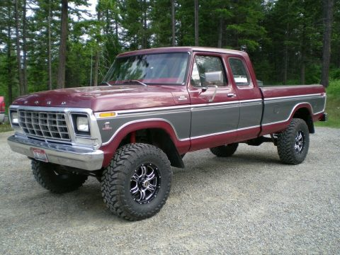 Cummins engine 1979 Ford F 250 Custom pickup custom for sale