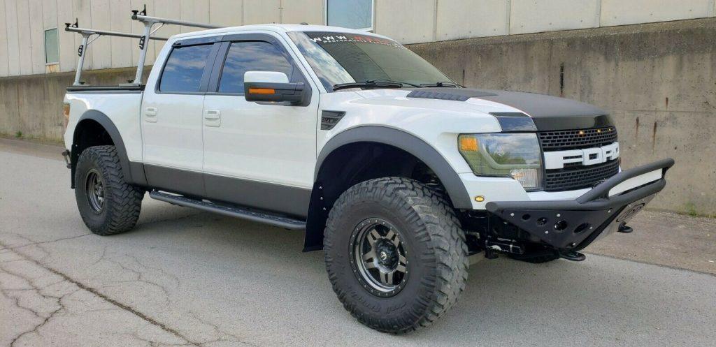 highly built 2013 Ford F 150 SVT Raptor custom pickup