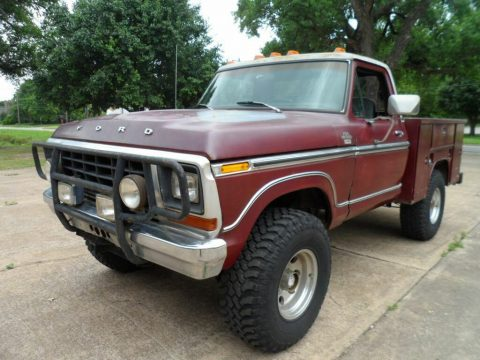 lifted 1979 Ford F 150 Ranger Lariat pickup custom for sale