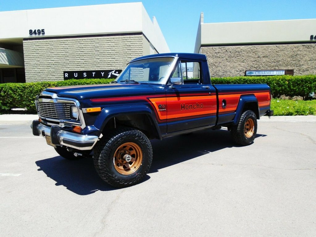 lifted 1982 Jeep J10 Honcho pickup custom