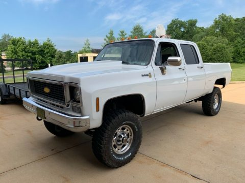 new parts 1976 Chevrolet 2500 Pickup custom for sale
