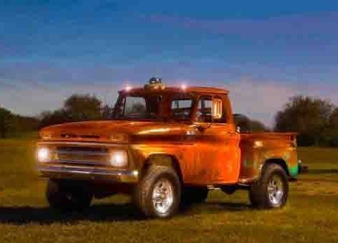 rat rod 1965 Chevrolet Stepside Pickup custom for sale