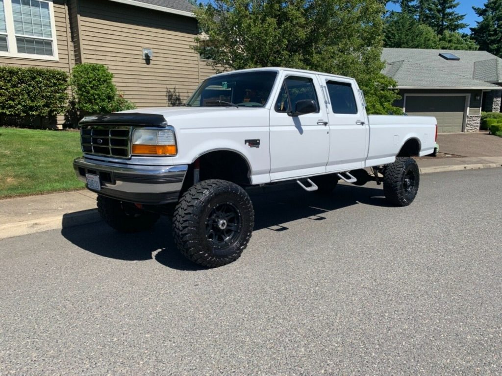 reliable 1997 Ford F 350 pickup custom