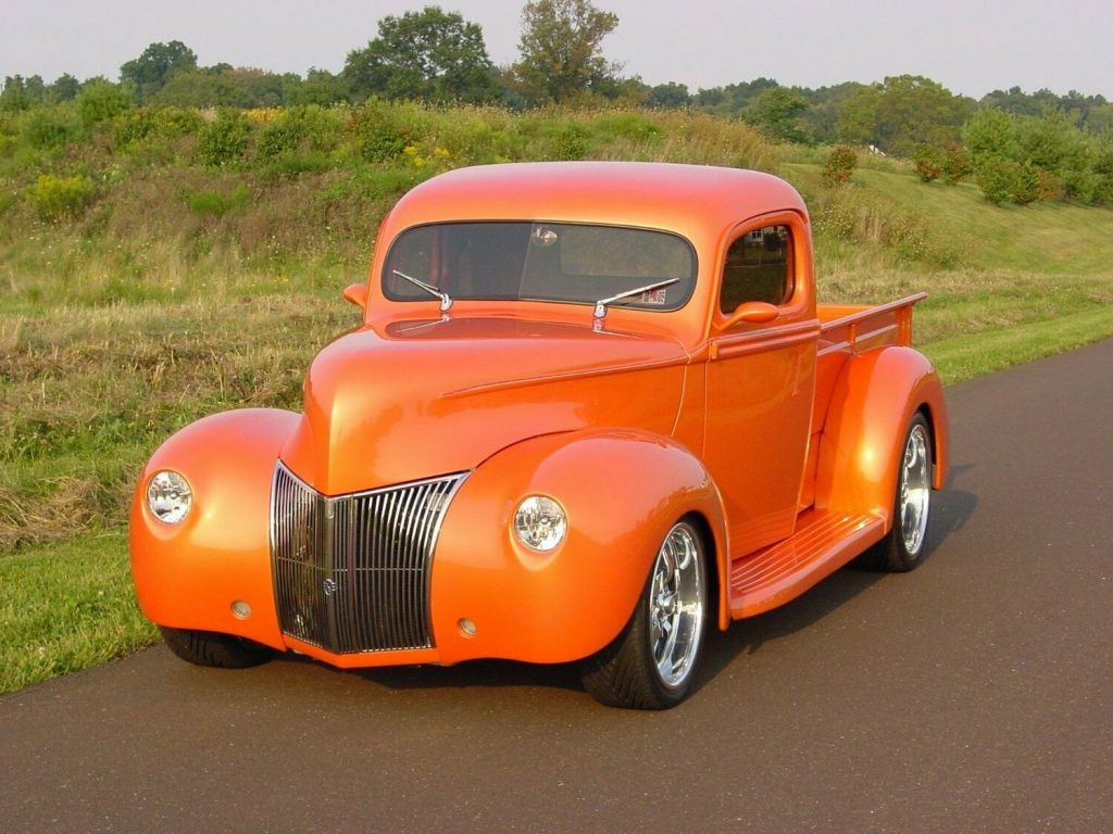streetrod 1941 Ford Pickup custom