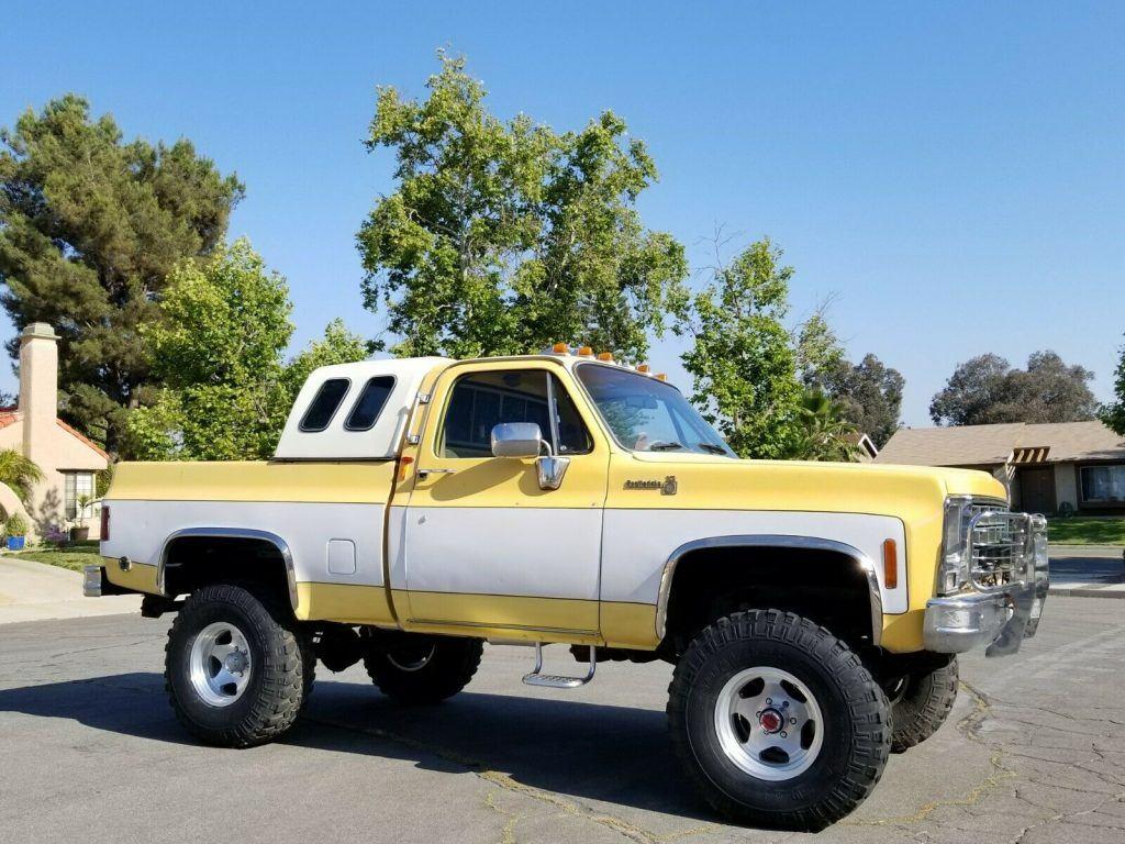 vintage lifted 1979 Chevrolet C 10 C/K 1500 Pickup custom