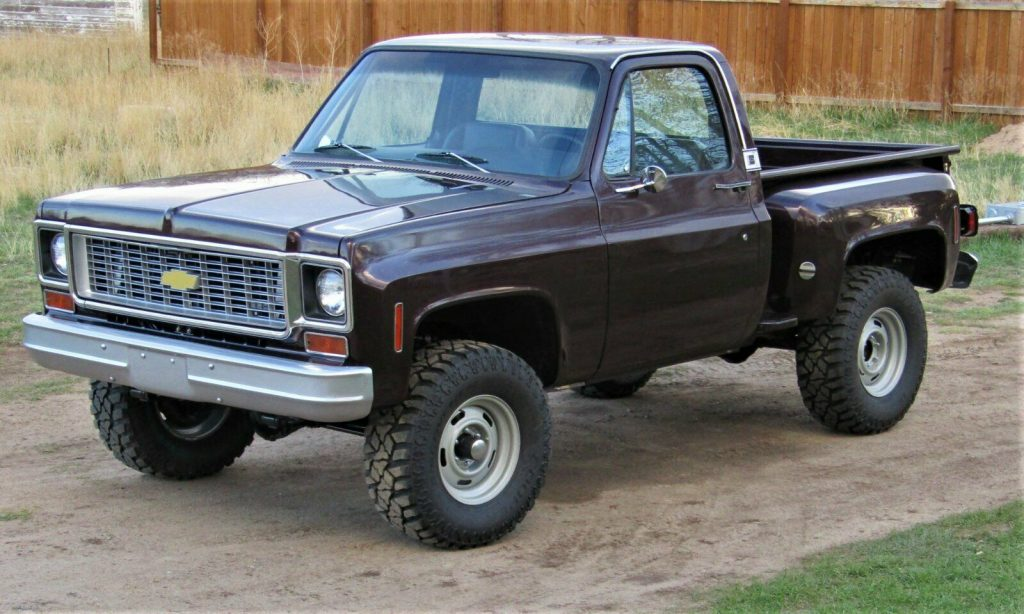 well modified 1974 Chevrolet C 10 pickup custom