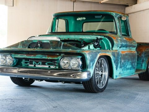 badass 1963 GMC pickup custom for sale