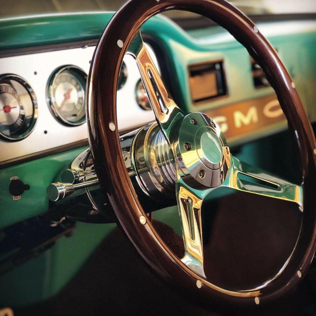 badass 1963 GMC pickup custom