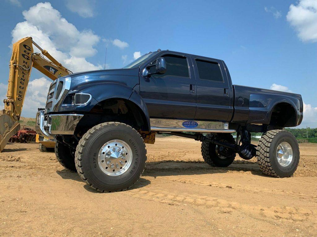 badass 2000 Ford F750 Super duty pickup custom