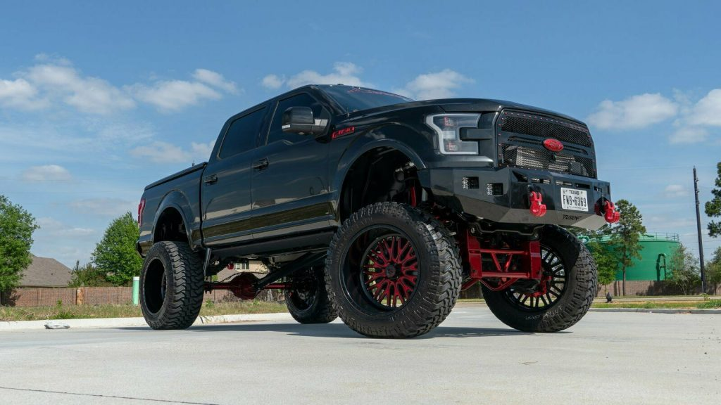 badass 2015 Ford F 150 Lariat pickp custom