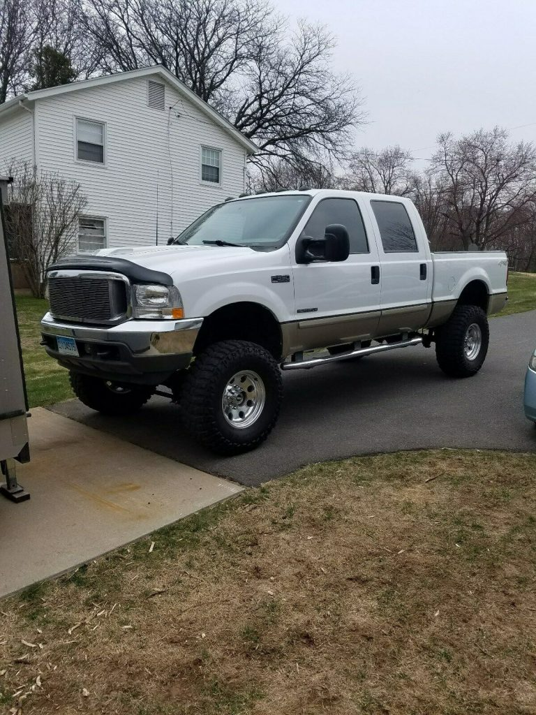 excellent shape 2001 Ford F 350 Lariat Leather Package pickup custom