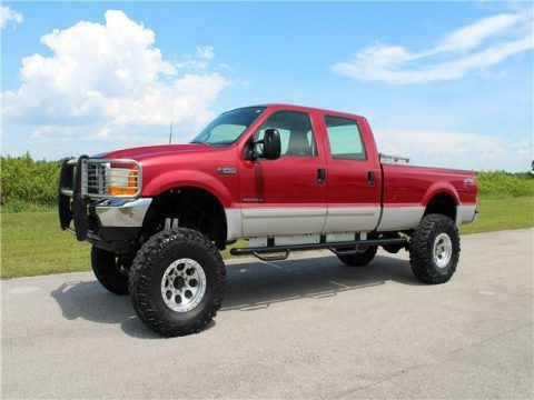 lifted 2001 Ford Super Duty F 250 XLT pickup custom for sale