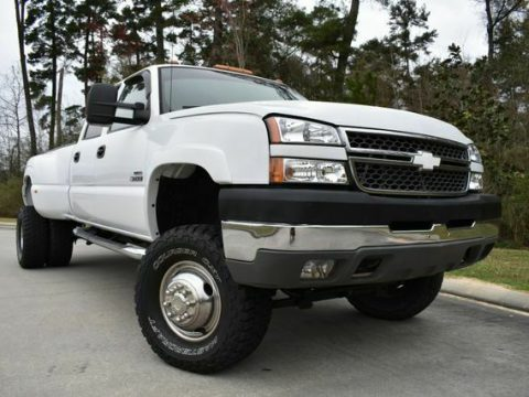 lifted 2005 Chevrolet Silverado 3500 DRW LS pickup custom for sale