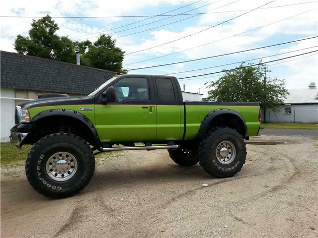 monster 2006 Ford F 250 XL pickup custom