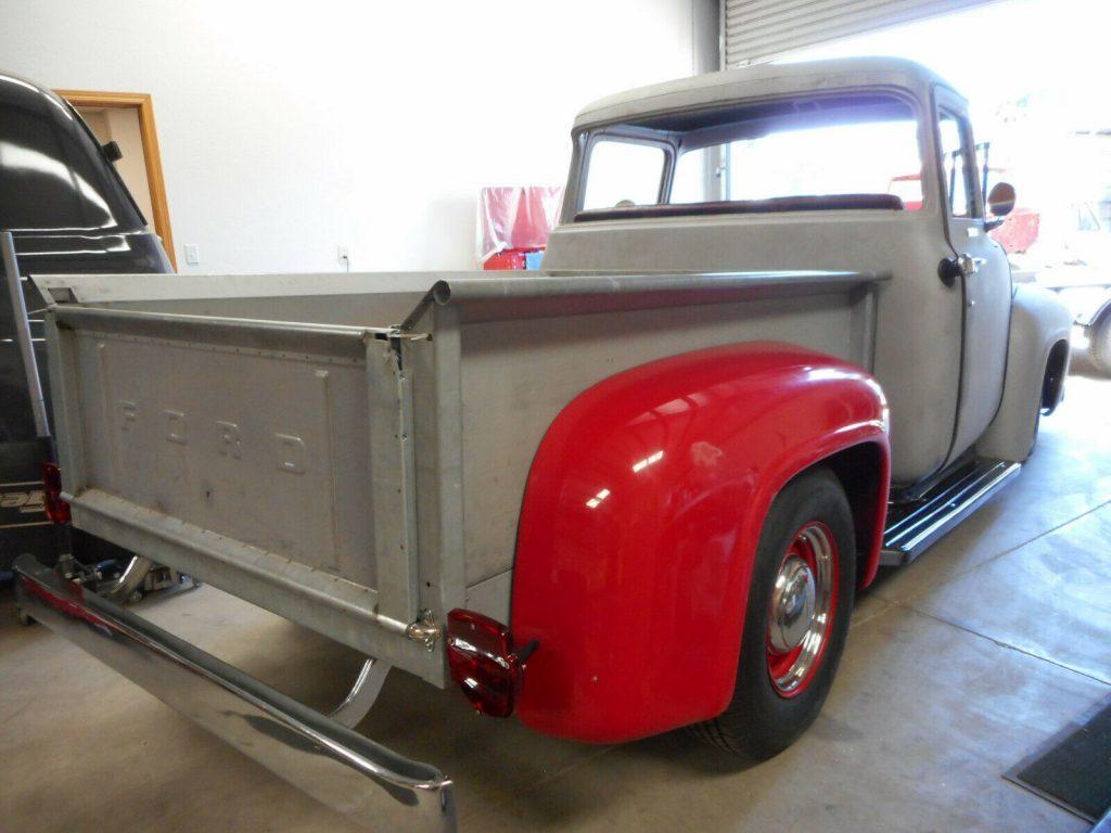 project 1956 Ford F 100 Big Window pickup custom