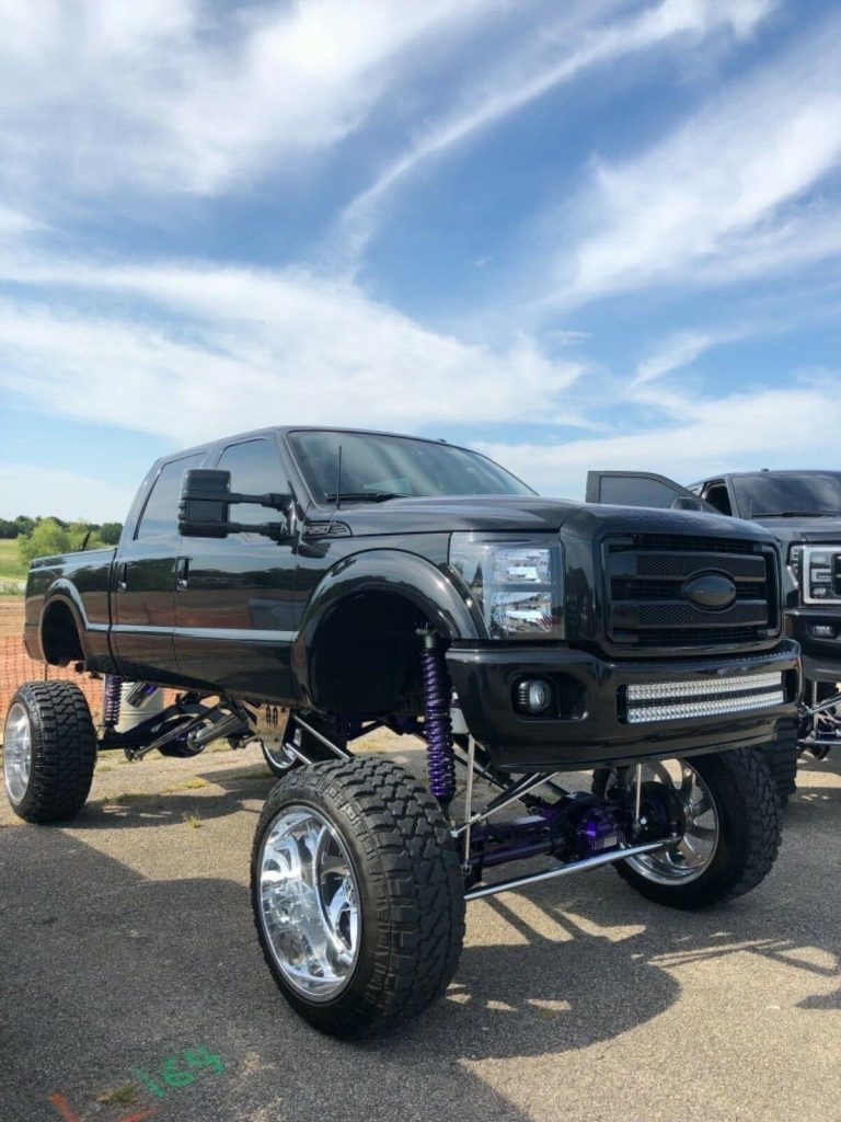 every option available 2014 Ford F 250 Platinum custom