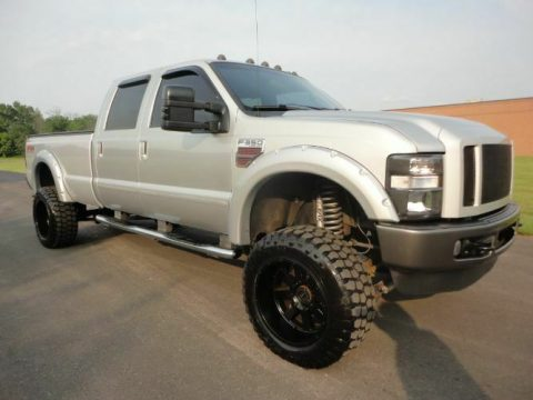 many upgrades 2008 Ford F 350 Super Duty pickup custom for sale