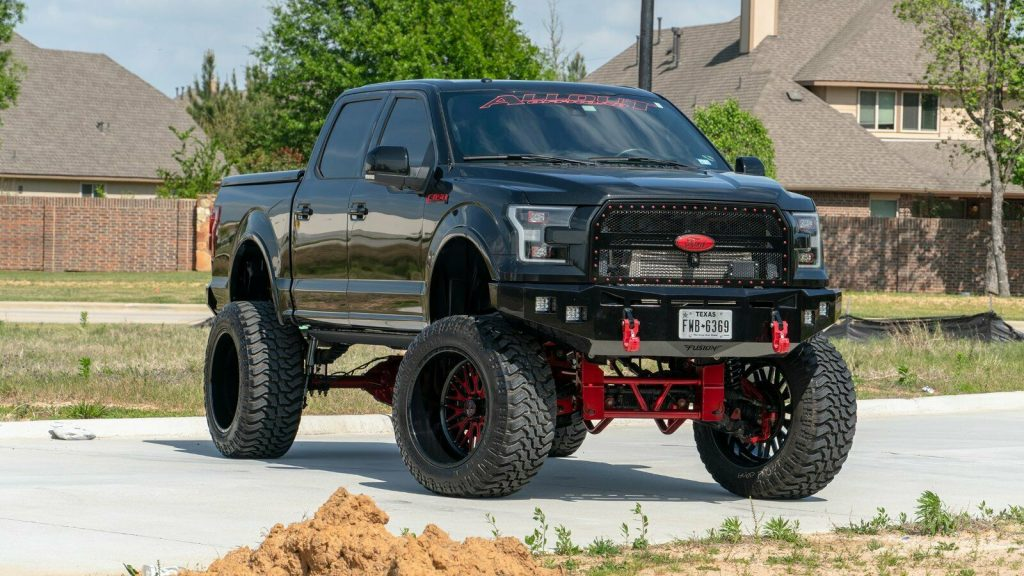pro charged 2015 Ford F 150 Lariat custom