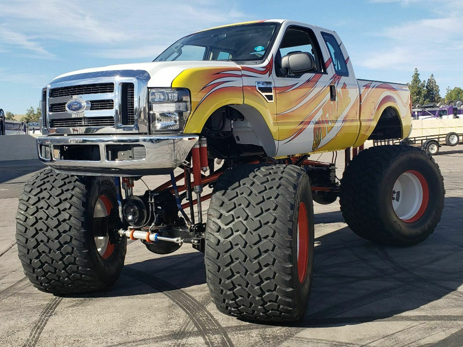 Real Monster 2008 Ford F 250 Lifted Custom For Sale