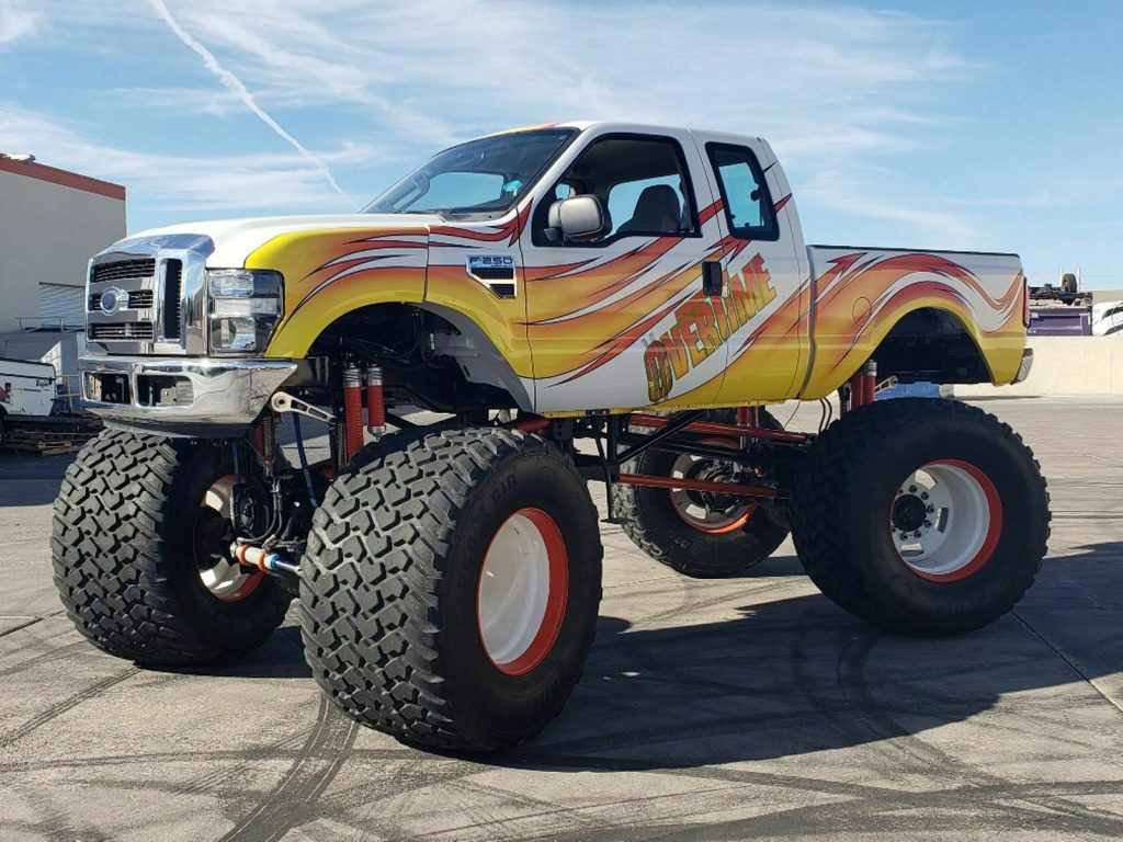 real monster 2008 Ford F 250 lifted custom