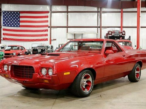 vintage 1972 Ford Ranchero custom for sale