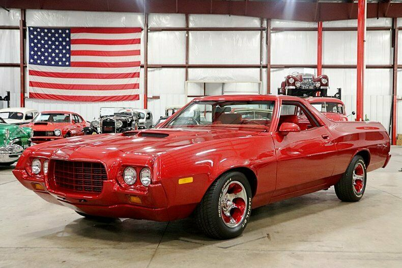 vintage 1972 Ford Ranchero custom