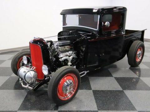 black badass 1932 Ford Pickup custom for sale